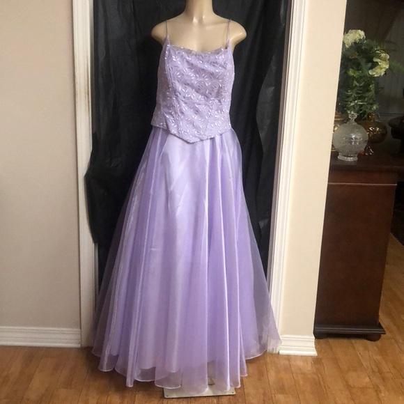 lenovia Dresses | Long Lavender Ball Gown | Poshmark